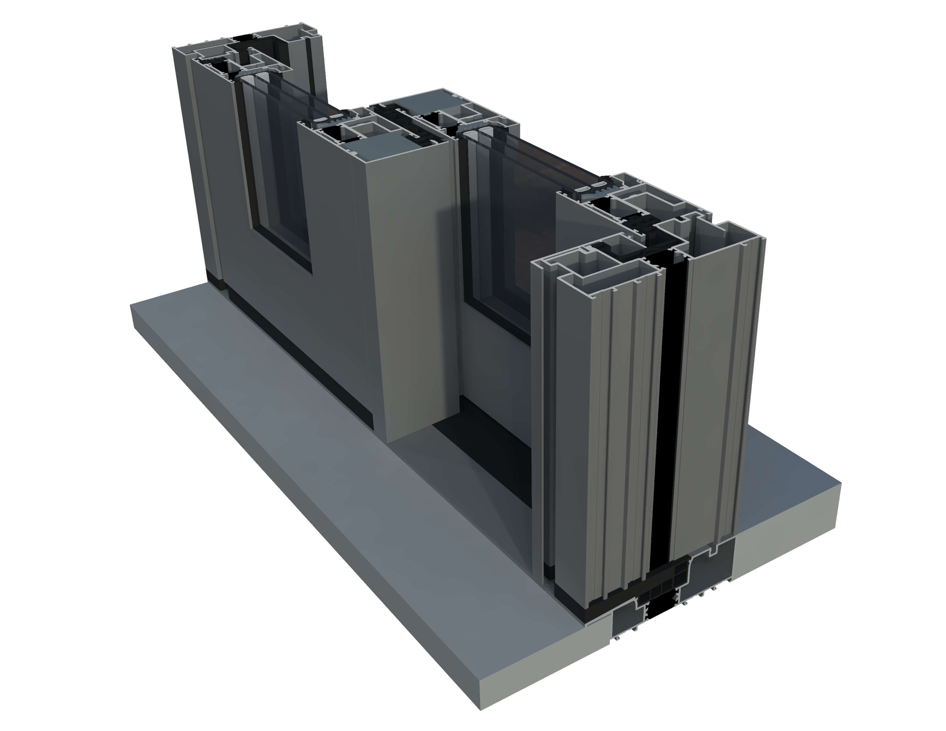plastové okná a dvere ultraglide HST terasove dvere - ULTRAGLIDE NISKI PROG