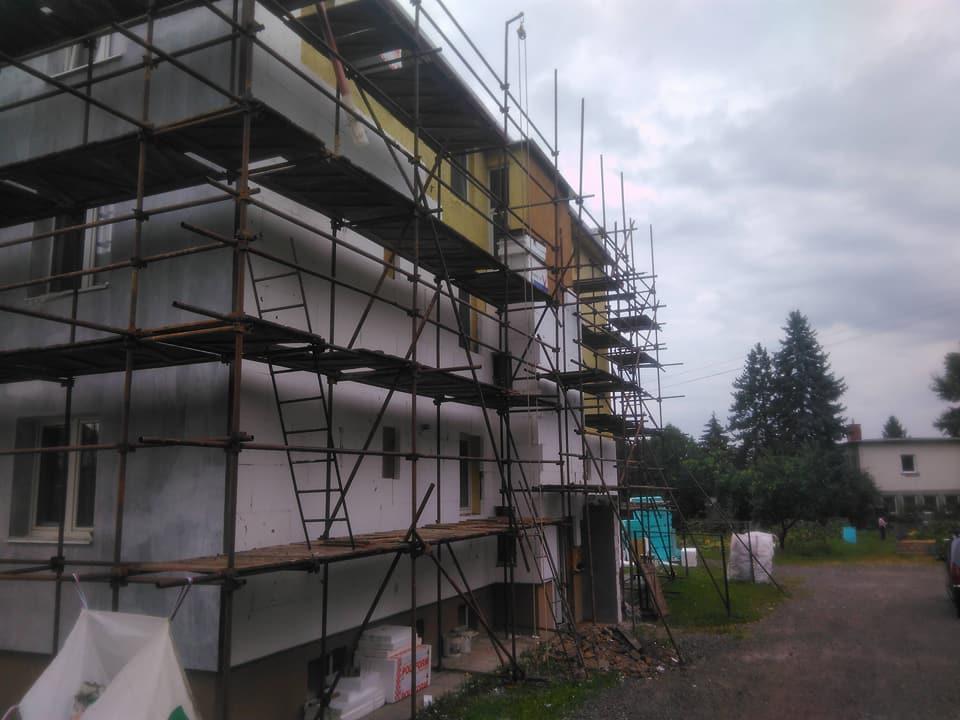 Oknosystem - Bytový dom - rekonštrukcia