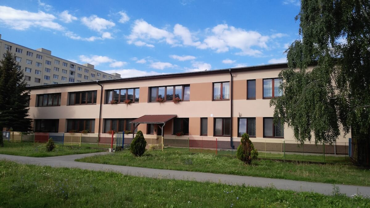 Oknosystem projekt Zateplenie detský domov