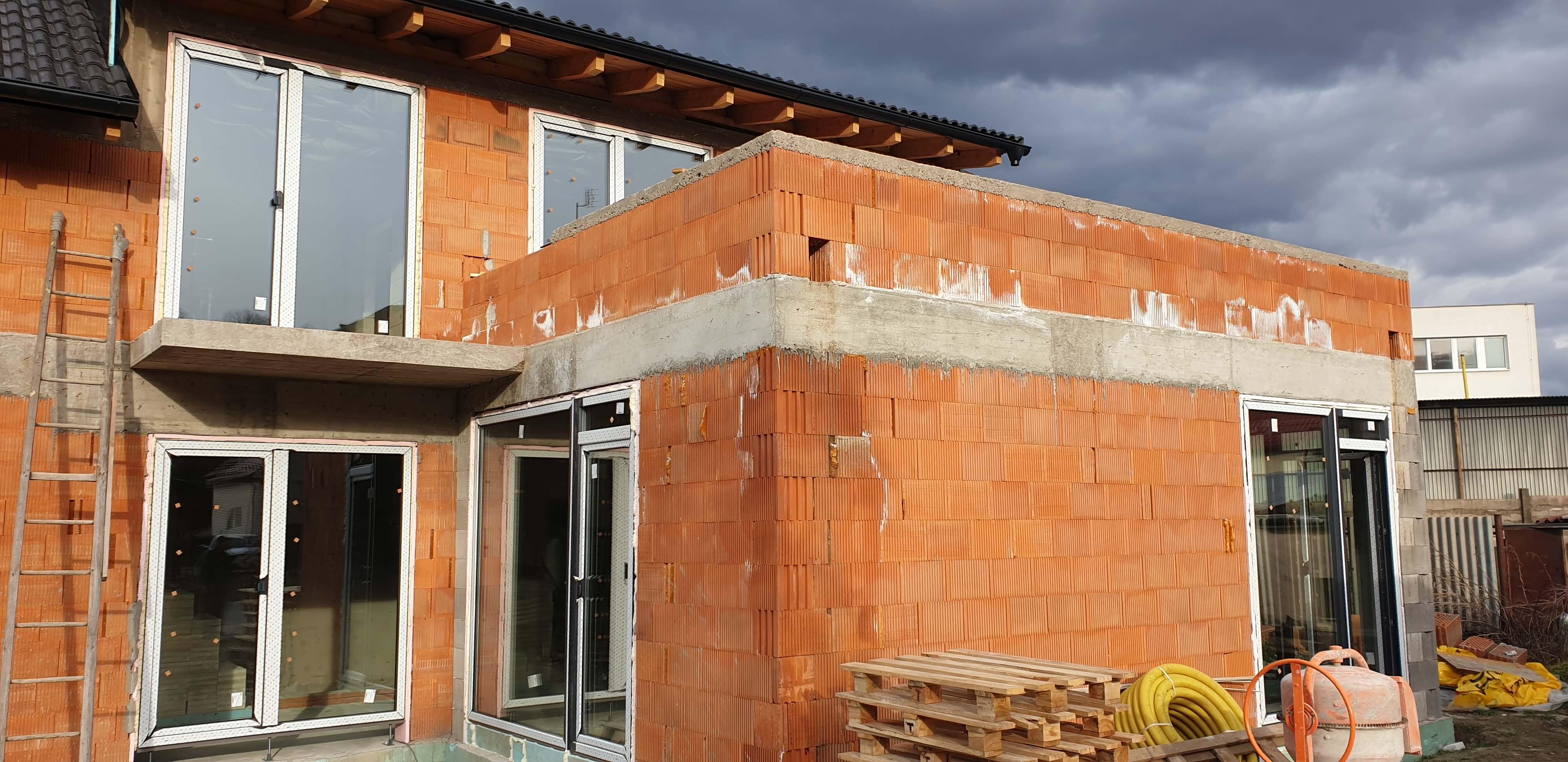 Oknosystem projekt Montáž PVC okien Myslava
